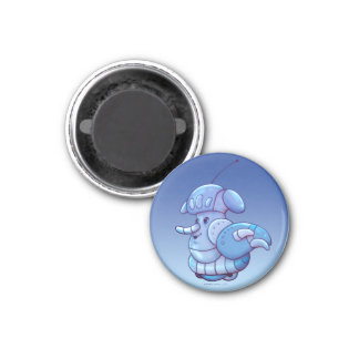 DIO ROBOT ALIEN MAGNET Small, 1¼ Inch