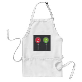 Diode Red and Green Standard Apron