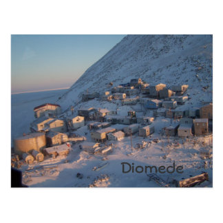 Diomede 5 postcard