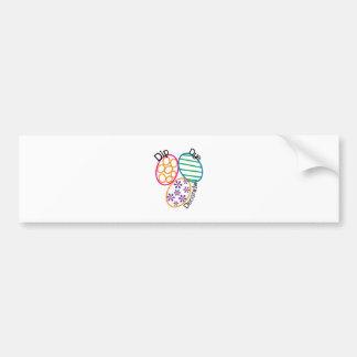 Dip Dye Decorate Bumper Sticker