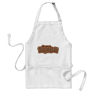 DIP ME IN CHOCOLATE apron - choose style