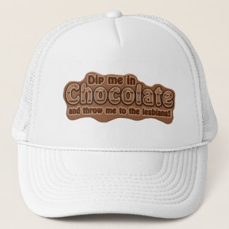 DIP ME IN CHOCOLATE hat - choose color
