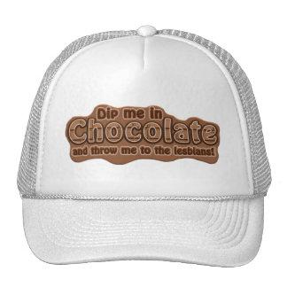 DIP ME IN CHOCOLATE hat - choose color