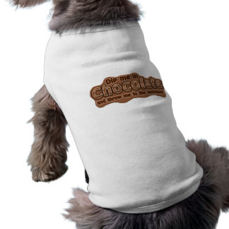 DIP ME IN CHOCOLATE pet clothing