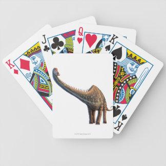 Diplodocus Bicycle Playing Cards