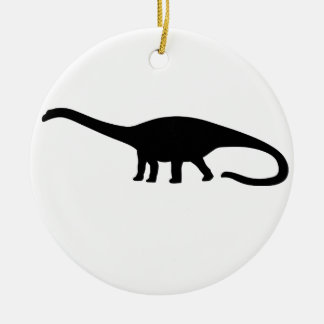 Diplodocus Dinosaur Christmas Ornament