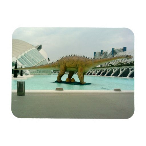 Diplodocus Dinosaur Flexible Magnet