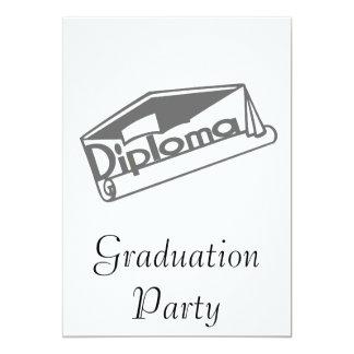 Diploma 13 Cm X 18 Cm Invitation Card