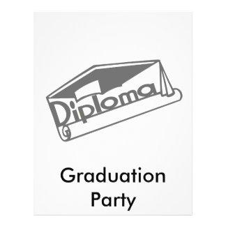 Diploma 21.5 Cm X 28 Cm Flyer