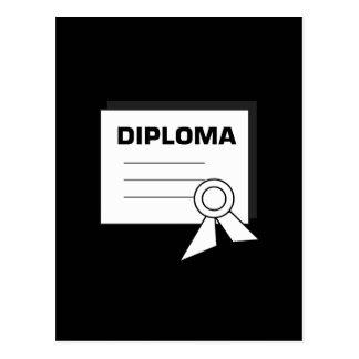 Diploma 6 postcard