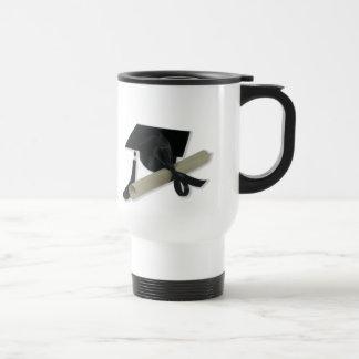 Diploma and Graduation Cap Mortar Board Mugs
