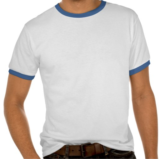 Diploma Blue Grad Cap (Male) Shirts