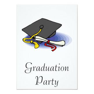 Diploma & Cap 13 Cm X 18 Cm Invitation Card