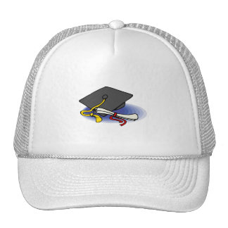 Diploma & Cap Trucker Hats