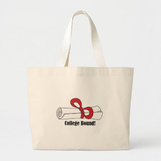 Diploma_CollegeBound Canvas Bags