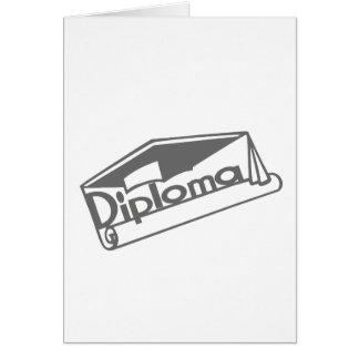 Diploma Greeting Card