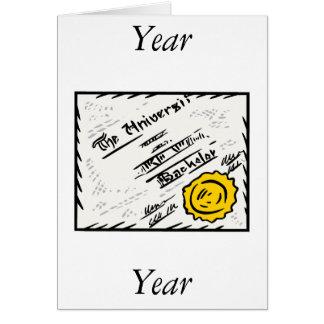 Diploma Note Card