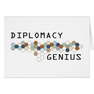 Diplomacy Genius Card