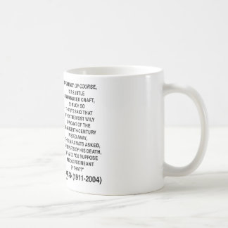 Diplomacy Subtle Nuanced Craft Wily Diplomat Quote Basic White Mug