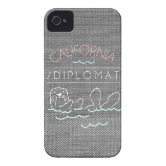 / DIPLOMAT APPAREL - OTTER - ipone4/4s case