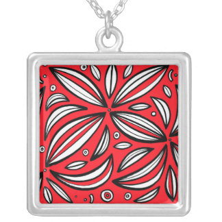Diplomatic Energetic Instant Phenomenal Square Pendant Necklace