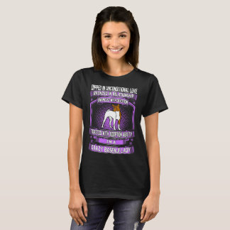 Dipped Unconditional Love Crazy Basenji Dog Lady T-Shirt