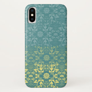 Dipped Vintage Elegant Chic Damask Lace Florals iPhone X Case