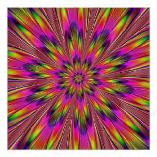 Dippy Hippy Print
