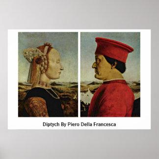 Diptych By Piero Della Francesca Poster