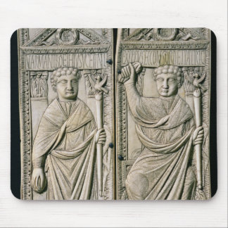 Diptych of Boethius  Consul in 487 AD Mouse Pad