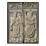 Diptych of Boethius  Consul in 487 AD Postcard