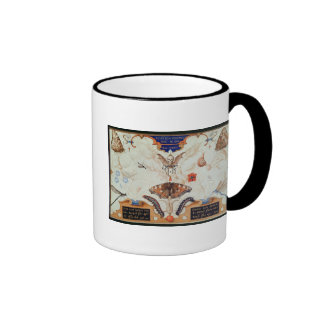 Diptych with flowers and insects, 1591 ringer mug
