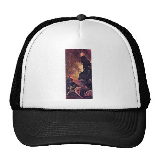Diptych With Scenes Of Hell. By Hieronymus Bosch Hat