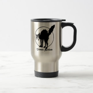 Direct Action travel mug