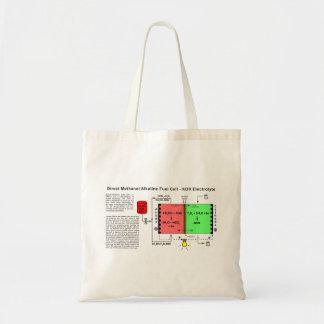 Direct Methanol Alkaline Fuel Cell Diagram Budget Tote Bag