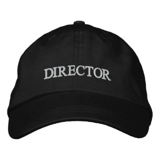 DIRECTOR Embroidered La La Land Hat Embroidered Cap