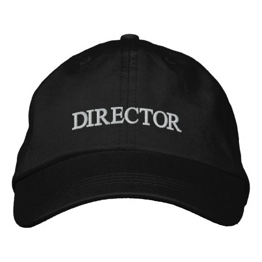 DIRECTOR Embroidered La La Land Hat Embroidered Baseball Cap