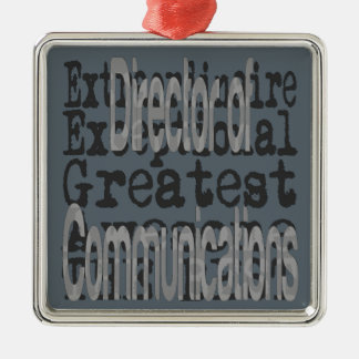 Director of Communications Extraordinaire Christmas Ornament