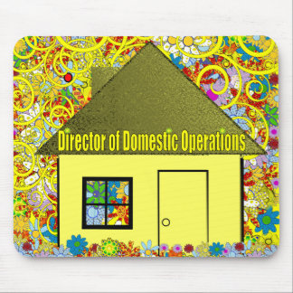 Director of Domestic Operations Mouse Mat