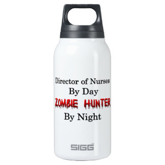 Director of Nurses/Zombie Hunter Insulated Water Bottle