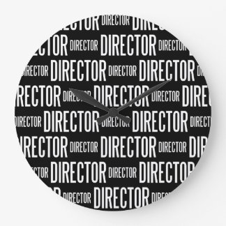 Director round large clock