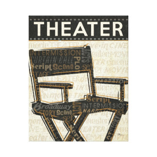 Director's Chair Canvas Print
