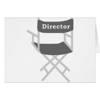 Director's Chair Card
