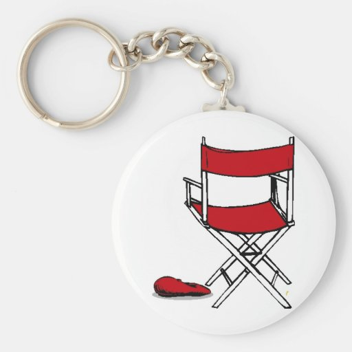 Director's Chair & Hat Key Chains