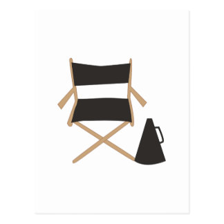 Directors Chair Post Card