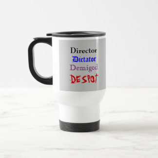 Director's Cup Stainless Steel Travel Mug