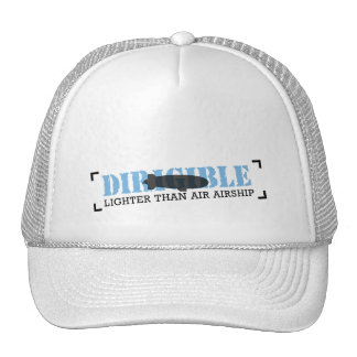 Dirigible Lighter Than Air Airship Mesh Hat