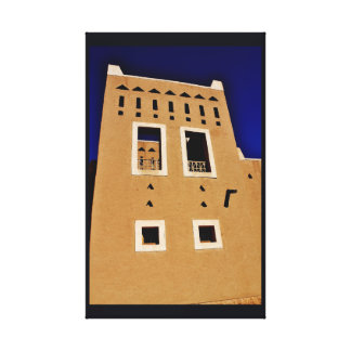 Diriyah Architecture Canvas Print