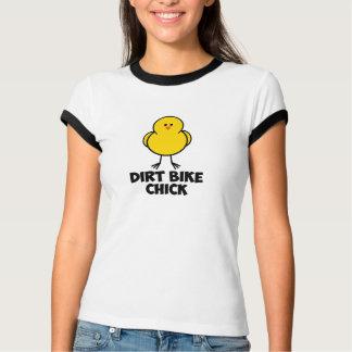 Dirt Bike Chick Tee Shirts