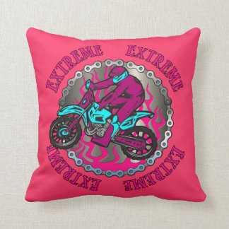Custom Dirt Bike Throw Cushions | Zazzle.co.uk